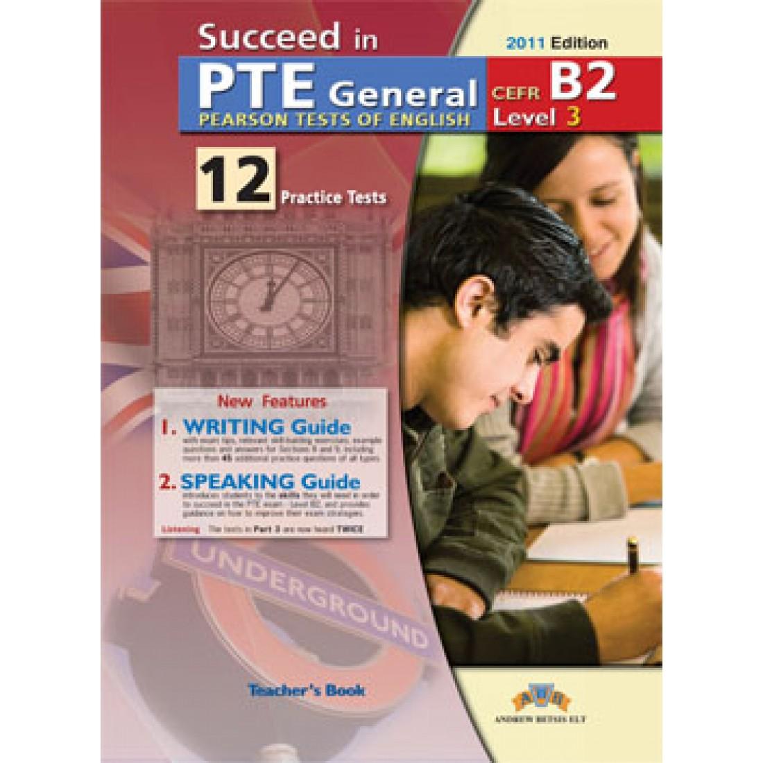 Pte General Level 3 Teachers Book
