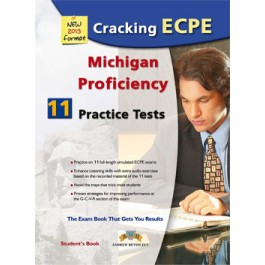 Cracking the Michigan (CAMLA) ECPE - 11 Practice Tests Self-Study Edition