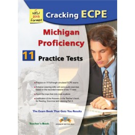 Cracking the Michigan (CAMLA) ECPE - 11 Practice Tests Teacher's Book
