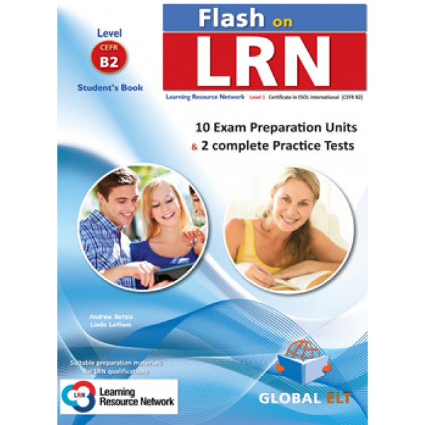 Flash on LRN B2 (10 Preparation Units & 2 Practice Tests) Teacher's Book Learning Resource Network (LRN)