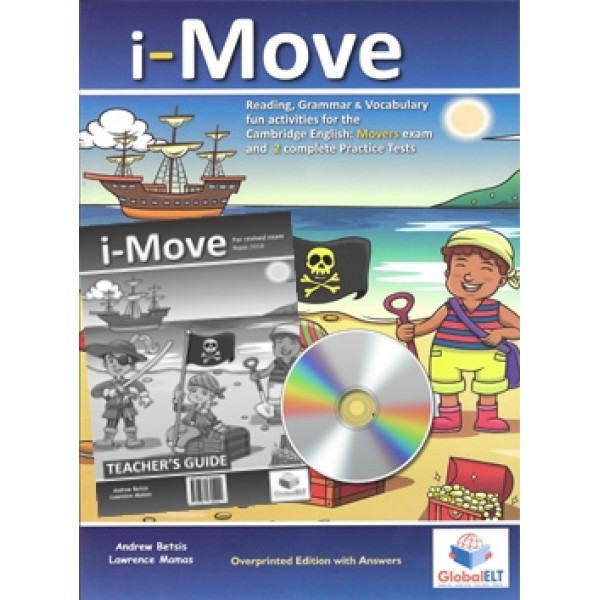 Cambridge YLE -  i-MOVE - 2018 Format -  Teacher's Edition with CD & Teacher's Guide