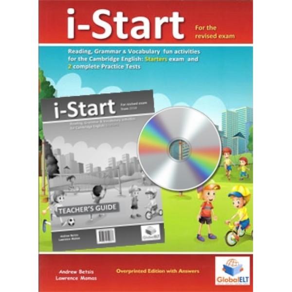 Cambridge YLE - i-START - 2018 Format -  Teacher's Edition with CD & Teacher's Guide