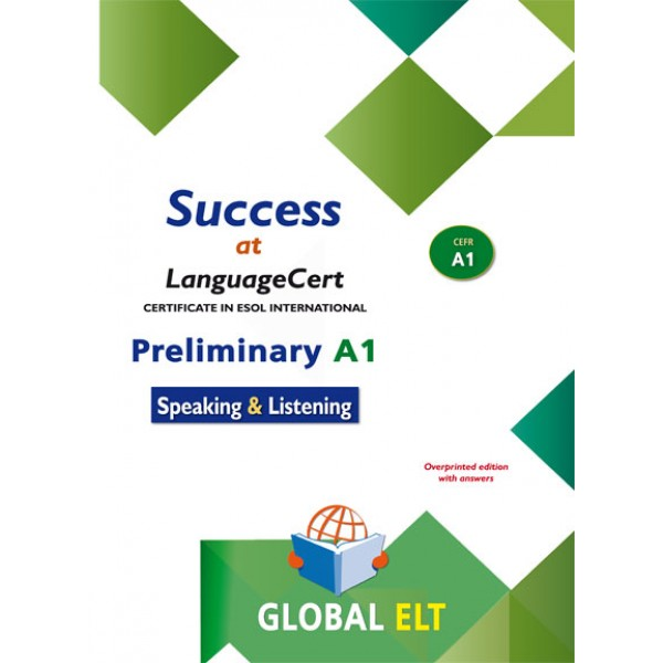Success at LanguageCert A1 ESOL SELT Teacher's book LanguageCert