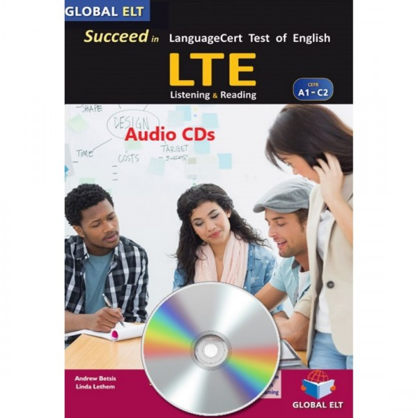 Succeed in LTE LanguageCert Test of English - CEFR A1-C2 - Practice Tests  -  Audio CDs
