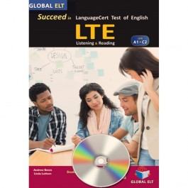 Succeed in LTE LanguageCert Test of English - CEFR A1-C2 - Practice Tests  - Self-study Edition