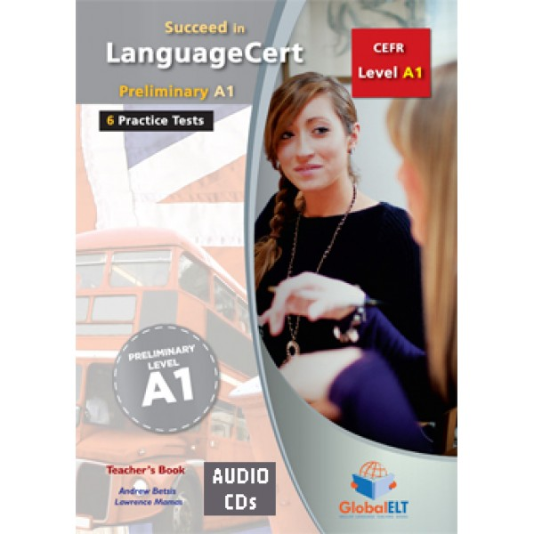 Succeed in LanguageCert Preliminary CEFR Level A1 Audio CDs