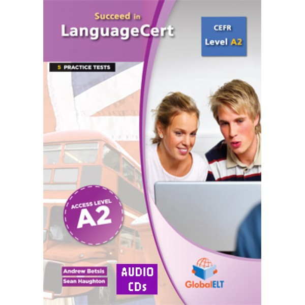Succeed in LanguageCert Access CEFR Level A2 Audio CDs