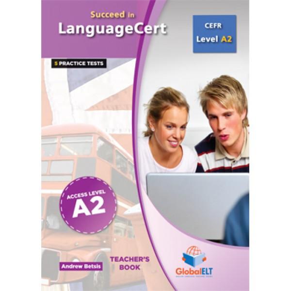 Succeed in LanguageCert Access CEFR Level A2 Teacher's Book