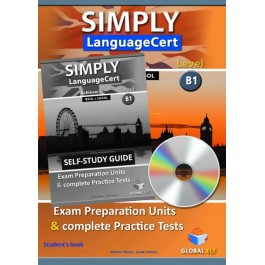 Simply LanguageCert Achiever CEFR Level B1 Self-Study Edition