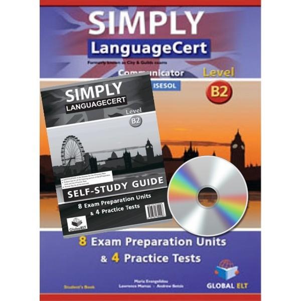 Simply LanguageCert Communicator CEFR Level B2 Self-Study Edition