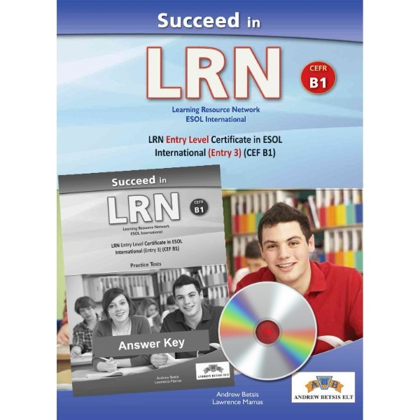Succeed in LRN - CEFR B1 - Practice Tests  - Self-study Edition