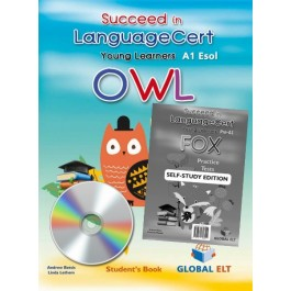 Succeed in LanguageCert Young Learners ESOL Owl  - Self-study Edition