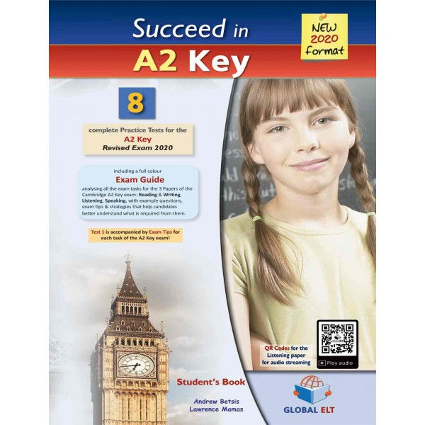 Succeed in Cambridge English A2 KEY (KET)  - 8 Practice Tests for the Revised Exam from 2020 - Teacher's book