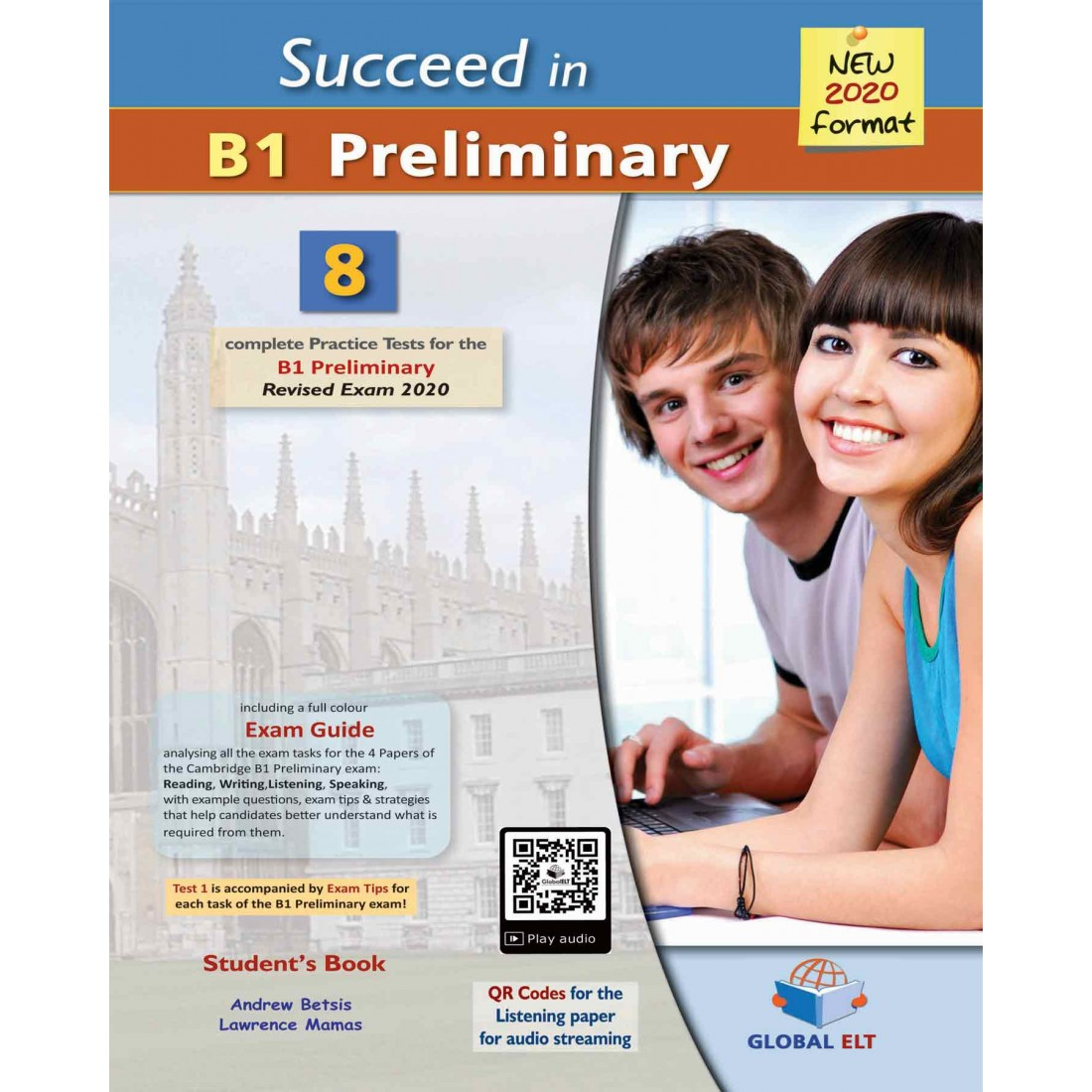 Succeed In Cambridge English B1 Preliminary 8 Practice Tests For The Revised Exam From 2020 Audio Cds Globalelt Co Uk