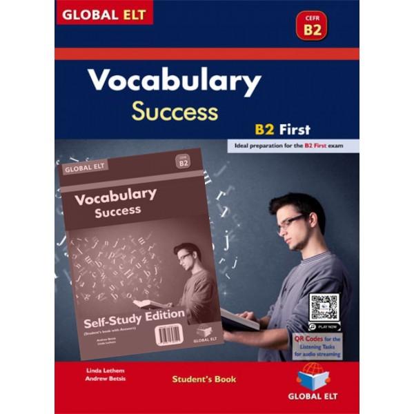 Vocabulary Success B2 First - Self-study Edition