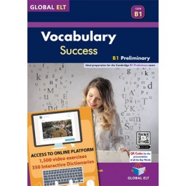 Vocabulary Success B1 Preliminary - Self-study edition - Ebook format