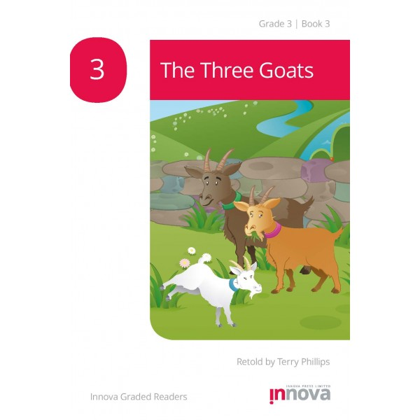 Innova - Young Learners - Graded Reader - The Three Goats - Grade 3