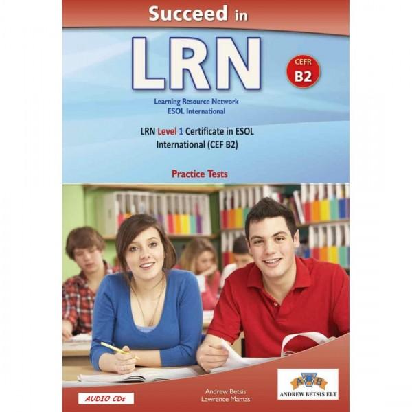 Succeed in LRN - CEFR B2 - Practice Tests  - Audio CDs