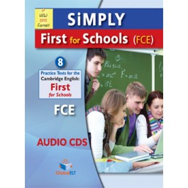 SiMPLY First for SCHOOLS-8 Practice Tests Audio CDs