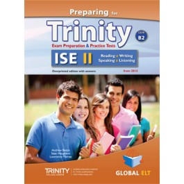 Preparing for Trinity-ISE II - CEFR B2 Teacher's Book Overprinted edition