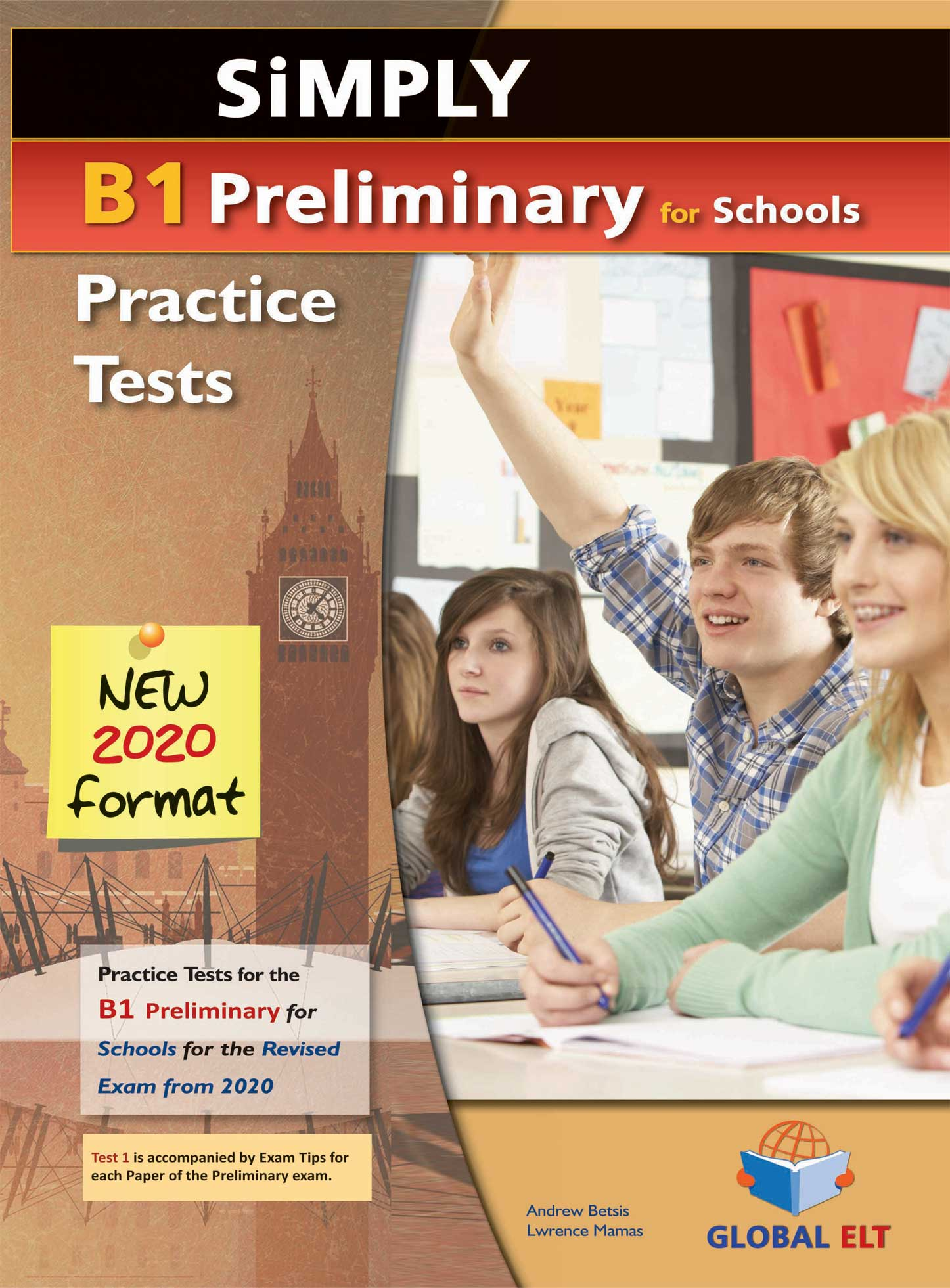 Simply B1 Preliminary For Schools 8 Practice Tests For The Revised Exam From 2020 Audio Cds Globalelt Co Uk